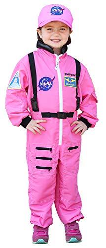 Aeromax, Inc. Personalized NASA Flight Suit (4/6, Pink)