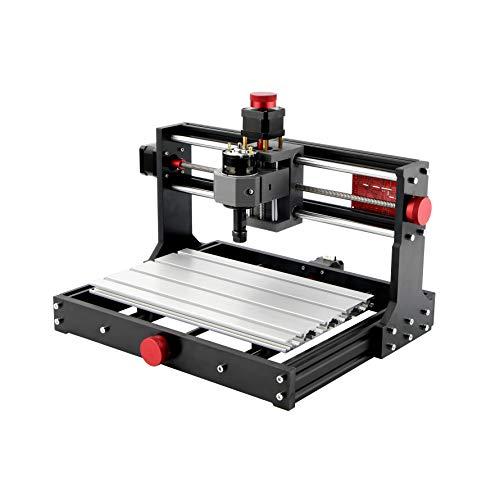 Mostics CNC 3018 Pro con módulo láser 2,5W Grabador del CNC Grabador láser...