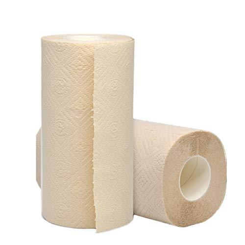 ppactvo Küchenpapier Rolle Toilettenpapier Öko-Küchenrolle Öko-Tissue Rolls für die Küche Seidenpapiere für die Küche Recycelte Küchenrolle Küchenpapier
