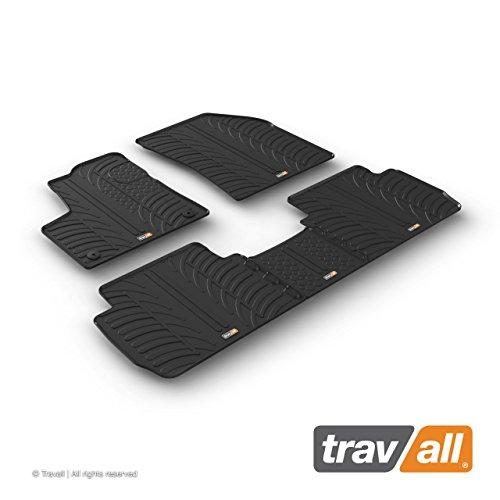 Travall Mats Gummifußmatten TRM1241 – Allwettermatten Nach Maß Fussmatten Set