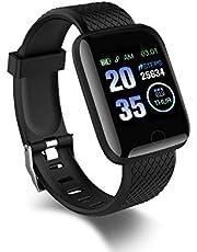 PXFD Smartwatch, 1,3 inch fitness polshorloge, fitness tracker, activiteitstracker met hartslagmeter, stappenteller, slaapmonitor, voor dames en heren