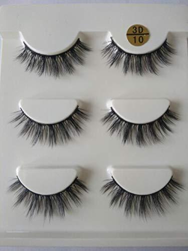 SGHR Main Bande Cils épais Faux Faux Cils Maquillage `` A39