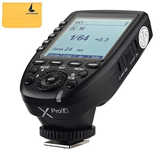 Godox XPro-F 2.4G TTL inalámbrico de alta velocidad sincronización 1/8000s Flash Trigger Transmisor X sistema de disparo de alta velocidad para cámaras Fuji