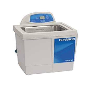 Branson CPX-952-518R Series CPXH Digital Cleaning Bath with Digital Timer and Heater 2.5 Gallons Capacity 120V