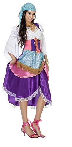 narrenkiste W4382-42 - Vestido para mujer, diseo de pirata