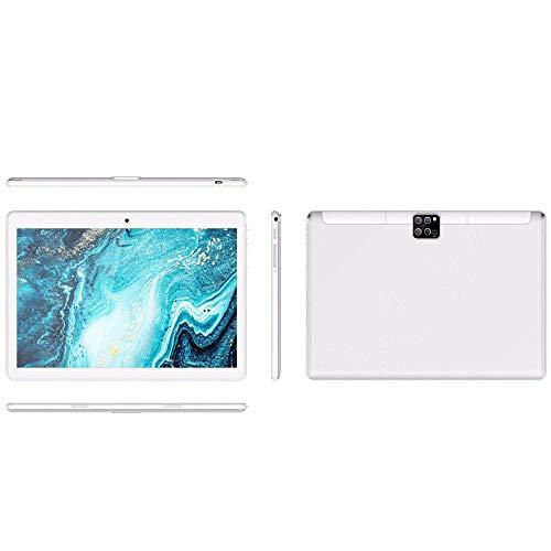 Tablet PC de 10 Pulgadas Android 9.0, con 8 + 128GB de Almacenamiento, teléfono móvil 3G, Tablet PC, cámara HD con Tarjeta SIM Dual, WiFi, Bluetooth, GPS, Pantalla táctil HD, Llamadas de Soporte