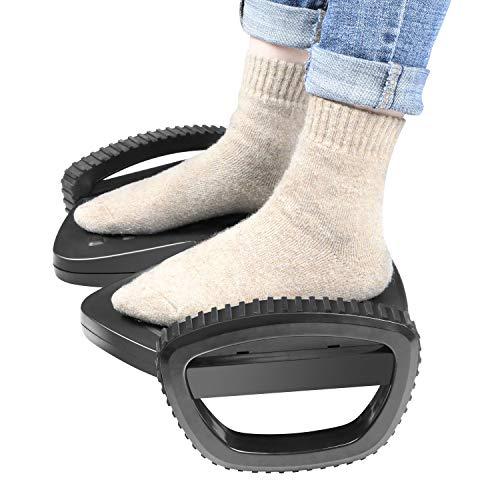 Ergonomic Footrest, Adjustable Under Desk Foot Rest...