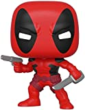 Funko Pop! Bobble Marvel: 80th - First Appearance: Deadpool