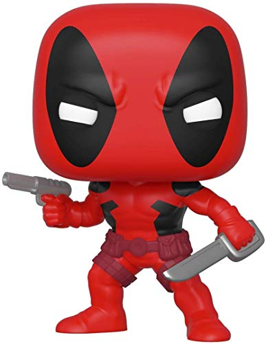 Funko Pop Bobble Marvel: 80th-First Appearance: Deadpool