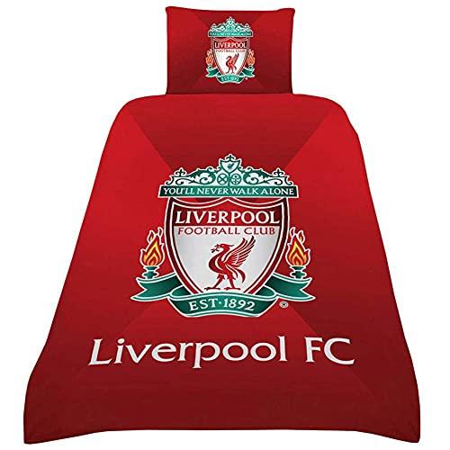 Liverpool FC Gradient Single Duvet Set LFC Official