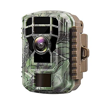"""Campark Trail Camera 16MP 1080P HD Game Camera Waterproof Wildlife Scouting Hunting Cam with 120° Wide Angle Lens and Night Vision 2.0"""" LCD IR LEDs"""