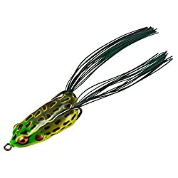 The Booyah Pad Crasher hollow body frog lure.