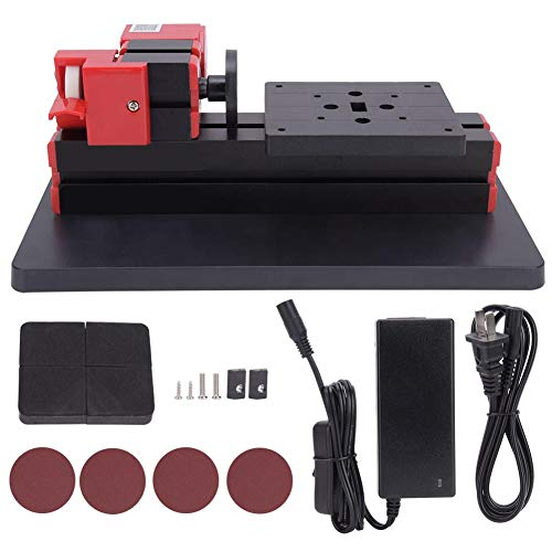 Learn More About 110-240V Mini Sanding Machine, 20000RPM 24W DIY Sanding Lathe Machine with Drilling...