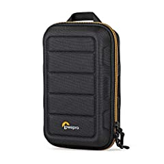 "Lowepro Hardside CS 60 Case - Removable Cushioned Divider - Compression Molded Divider - Lowepro Lifetime Limited Warranty Fits: Small drone, 2 action cameras or mirrorless + 1-2 lenses + accessories Dimensions (WxDxH): Exterior: 5.51 x 3.35 x 8.94"" ..."