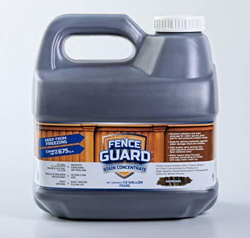 Fence Guard Stain Concentrate 1.5 Gallon in Espresso