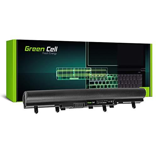 Green Cell Standard Serie Laptop AL12A32 Akku für Acer Aspire E1-510 E1-510P E1-522 E1-530 E1-530G E1-532 E1-570 E1-570G E1-572 E1-572G (4 Zellen 2200mAh 14.4V Schwarz)
