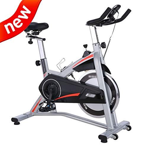 DXIUMZHP Bicicletas estáticas y de Spinning Bicicleta Deportiva de Interior para Pedal Sala de Bicicleta Bicicleta de Ejercicios Bicicleta de Spinning silencioso Equipo de Gimnasio para Bajar de Peso