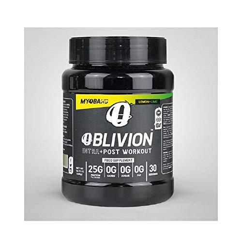 MyoBand Oblivion + Electrolytes Intra + Post Workout 480g Lemon Lime