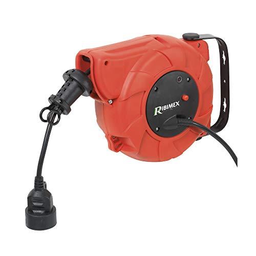 Provence Outillage 4137 - Enrollador automático de cable eléctrico