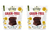 Otto's Naturals Grain-Free Classic Brownie Mix - Organic, Gluten-Free, Nut Free, Non-GMO, Made With Cassava Flour - 11.11 Ounce Bag (Pack of 2)