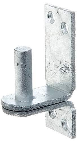 GAH-Alberts 311407 Kloben auf Platte, DII-Haken, feuerverzinkt, Ø13 mm, 100 x 35 mm / 1 Stück