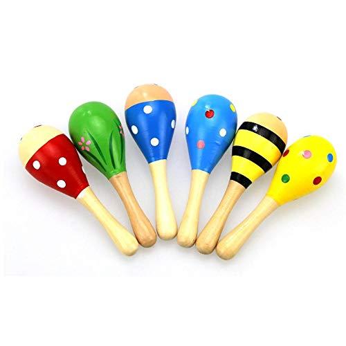 JKMQA dx Juguetes Infantiles Niños Bebés Juguetes de Desarrollo Niño Sonido Musical Juguete Juguete de Madera para Bebé Regalo (Color: Multicolor)