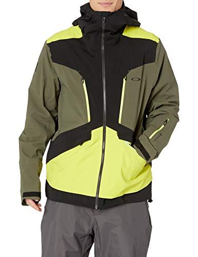Oakley Men's Alpine Shell 3L Gore-Tex Jacket, Blackout, M
