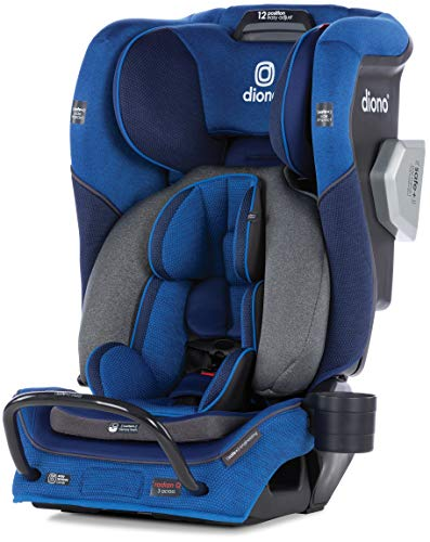 Image of Diono Radian 3QXT Latch, All-in-One Convertible Car Seat, Blue Sky