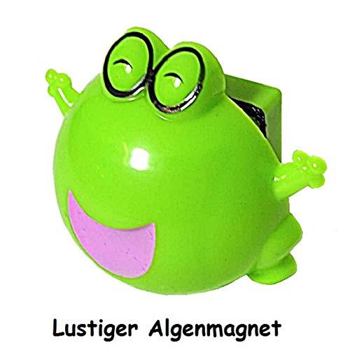 1a-becker Lustiger Algenmagnet Frosch Aquarium Scheibenreiniger Aquarienreiniger Algen Magnet stark