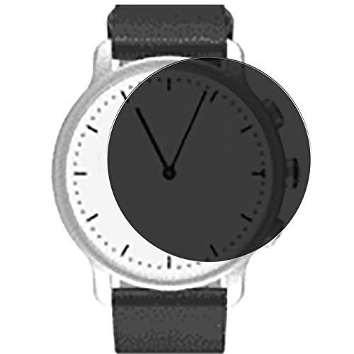 Vaxson Anti Spy Schutzfolie, kompatibel mit Nevo watch 40mm Smartwatch Hybrid Watch, Displayschutzfolie Bildschirmschutz Privatsphäre Schützen [nicht Panzerglas]