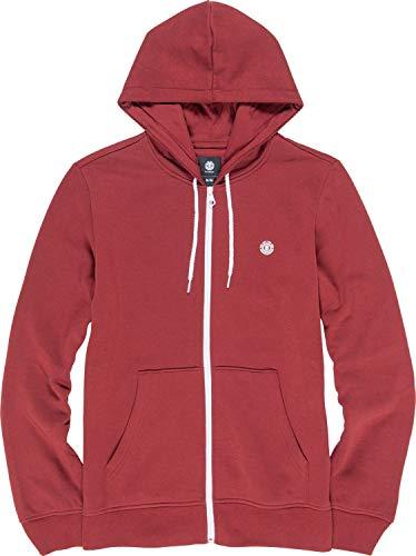 Element Cornell Classic ZH Sweatshirt, Uomo, Port, XL