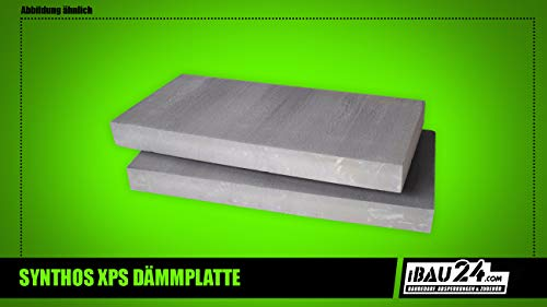 XPS Dämmplatten Pime G 2,0-10,0cm x 125cm x 60cm Styrodur Paket 3-15 m² (Stärke 2,0cm)
