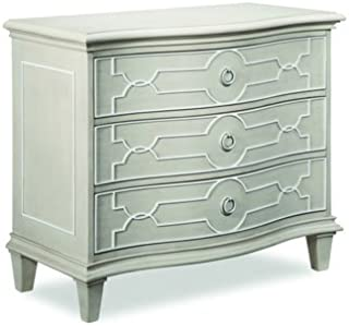 A.R.T. Furniture Chateaux Grey 3-Drawer Bedside Chest