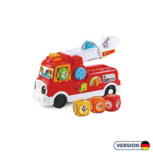 Vtech 80-608304 ABC-Feuerwehr, Babyspielzeug, Mehrfarbig