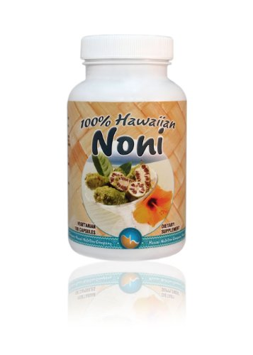Hawaii Nutrition Company Immune Support Noni Capsules, Superfood Supplement to Boost Immunity, Manage Muscle & Joint Pain, Improve Digestion, 100 Capsules