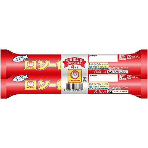 東洋水産 マルちゃん ソーセージL 4本束 袋70g×4