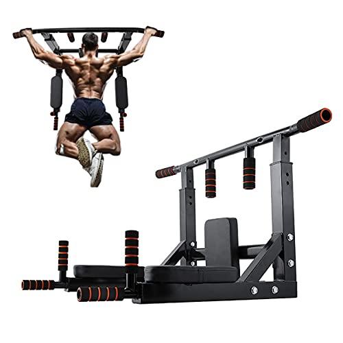 Multifuncional Montado En La Pared Pull Up Bar Home Gym Fitness Chinning Hierro Soporte para El Entrenamiento De La Fuerza del Cuerpo Completo En El Hogar Gimnasios