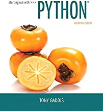 Starting Out with Python Plus MyLab Programming with Pearson eText -- Access Card Package (4th Edition)
