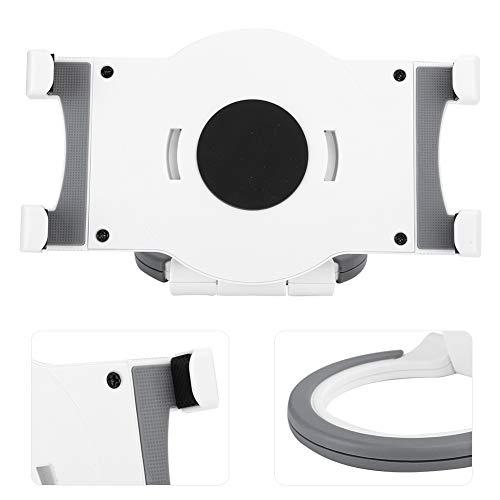 KIKYO Computadora Tableta, la Longitud es de 7 Pulgadas a 10 Pulgadas, Puede Girar 360 Grados, Uso Fuerte y a Largo Plazo(White)