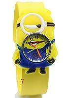 MINIONS ミニオン Watchsnap Kids 腕時計 rubber Strap Analog Watch (003) [並行輸入品]