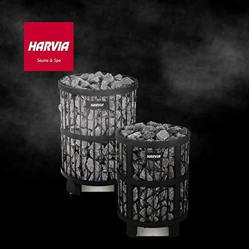 Harvia Elektrosaunaofen Saunaofen elektrobeheizter Ofen Legend PO11 HPO110400M