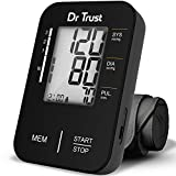 Dr Trust Fully Automatic Electronic Comfort Blood Pressure Monitor-121 (Black)…