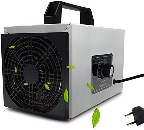 WHSS El Ozono Generador Portátil, 10000mg / H De Alta Capacidad Comercial Home Air Ionizadores De Salas For Fumadores Y Mascotas Coches purificador de Aire
