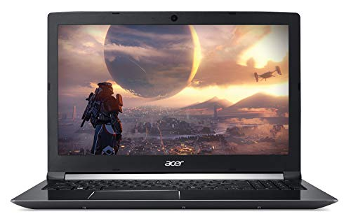 2019 Acer Aspire 7 17.3' FHD VR-Ready High Performance Gaming Laptop | Intel 6-core i7-8750H | 32GB RAM | 512GB SSD Boot + 1TB HDD | GTX 1060 6GB | Backlit Keyboard | Fingerprint Reader | Windows 10