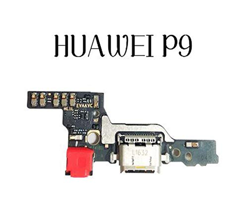 MOLIBAIHUO Compatible con Huawei P8 P9 P10 Lite Plus P8 Lite 2017 Cargador Puerto de Carga Dock Conector USB Datos Flex Cable Auriculares Jack Flex Ribbon Flex Cable (Color : For P9)