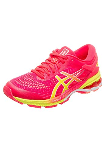Asics Gel-kayano 26, Women's Running Shoes, Pink (Laser Pink/Sour Yuzu 700), 4 UK (37 EU)
