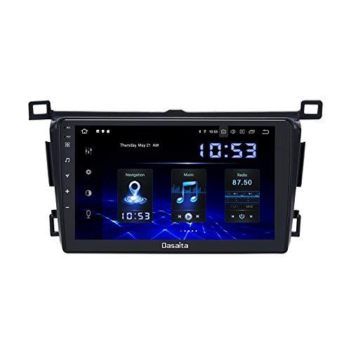 Dasaita 9 inch Car Radio Navigation for Toyota Rav4 2013 2014 2015 2016 2017 2018 Android Stereo with Carplay GPS DSP WiFi