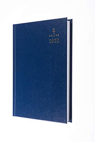 Collins - Agenda 2022, formato A5, colore: Blu