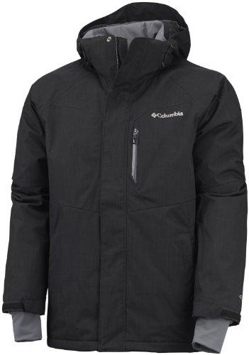 Columbia Alpine Action 3.0–Chaqueta de esquí para Hombre, Otoño-Invierno 2013, Hombre, Color Negro, tamaño S
