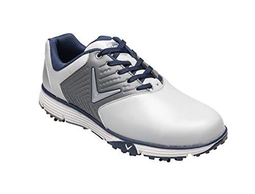 Callaway Herren Chev Mulligan S Waterproof Lightweights Golfschuhe, Grau Grey, 47 EU